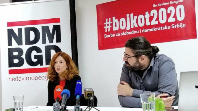 Ne davimo Beograd: Neučestvovanjem na izborima osporavamo diktaturu SNS-a 2