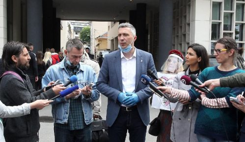 Obradović: Tužilaštvo će odbaciti krivičnu prijavu protiv mene i članova Dveri 4