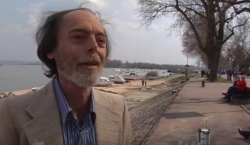 Spomen-klupa Branku Najholdu na Zemunskom keju 3