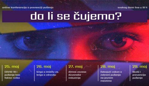 """Svetski dan bez duvana biće obeležen online konferencijom o prevenciji pušenja """"Da li se čujemo? 9"""