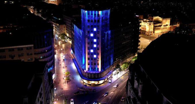 Na Dan Evrope Beograd osvetljen bojama EU 1
