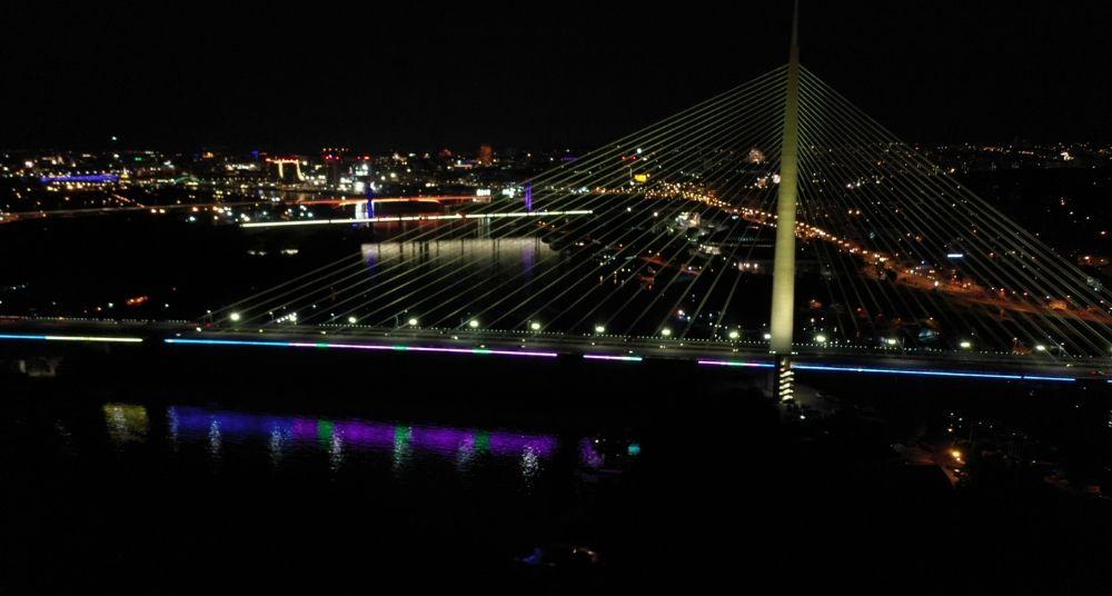 Na Dan Evrope Beograd osvetljen bojama EU 2