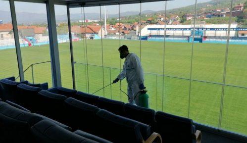 Surduličani dezinfekcijom stadiona i prostorija počeli pripreme za nastavak prvenstva 6