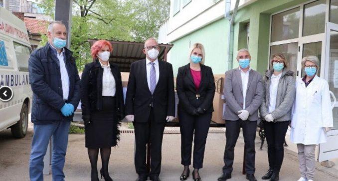 Bugarska donirala medicinsku opremu zdravstvenim ustanovama na jugu i jugoistoku Srbije 4