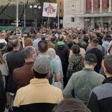 Protest protiv vlasti na beogradskom Trgu Republike 14