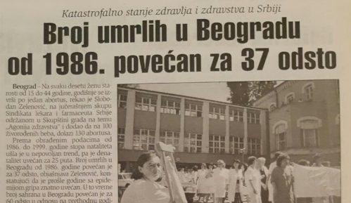 U kakvom je stanju bilo srpsko zdravstvo pre 20 godina? 2