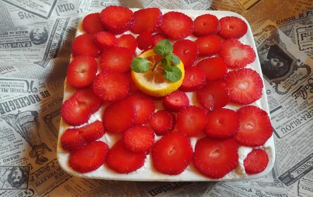 Tiramisu sa jagodama i limunom (recept) 2