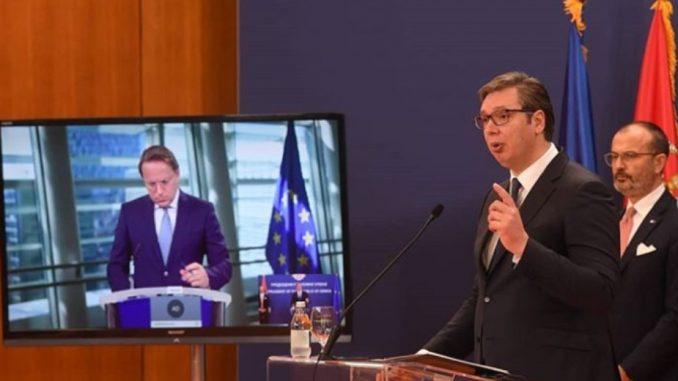 Vučić: Želimo jasnu poruku o našem članstvu u EU, a ne samo o prespektivi 2