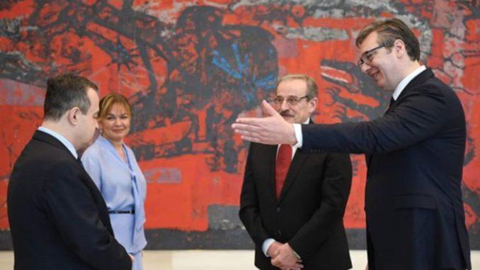 Novi ambasador Hrvatske u Srbiji predao akreditive Vučiću 2