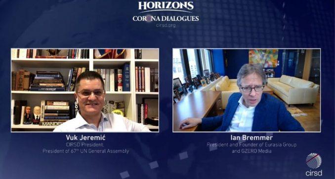 Jeremić i Bremer: Korona virus ubrzao kraj globalizacije 2