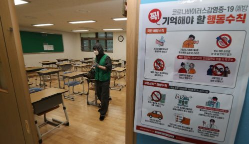 U Južnoj Koreji 13 novih slučajeva korona virusa, za sutra najavljeno otvaranje škola 7
