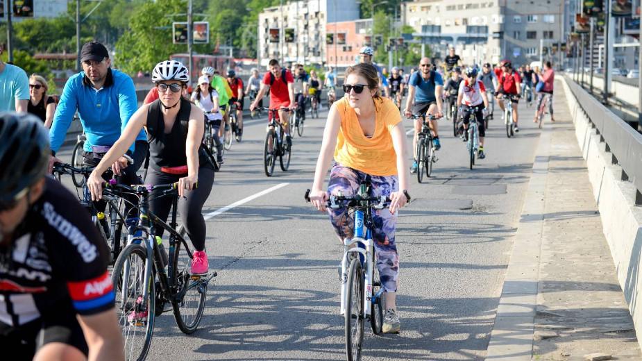 U subotu 117. biciklistička vožnja Kritična masa - Platanska ljubav 1