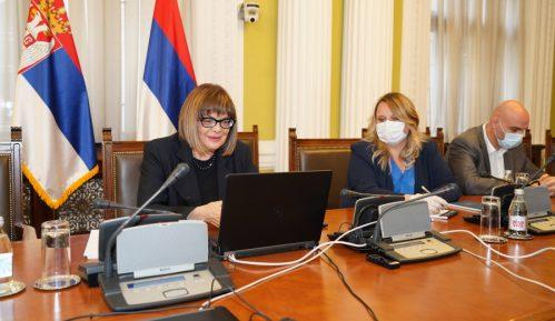 Gojković razgovarala sa Fajon i Bilčikom o izbornim uslovima 1