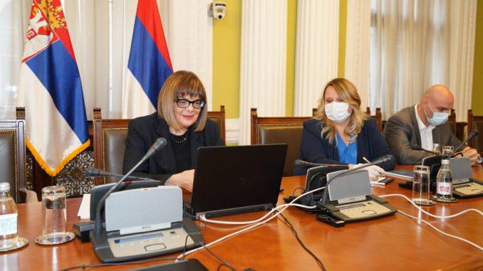 Gojković razgovarala sa Fajon i Bilčikom o izbornim uslovima 2