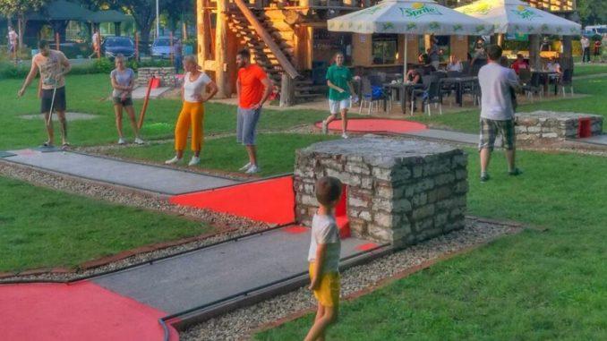 Mini golf na Adi Ciganliji počinje sa radom 3