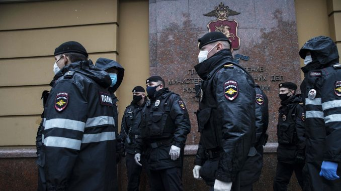 Moskovska policija hapsila advokate zbog protesta uprkos zabrani 1