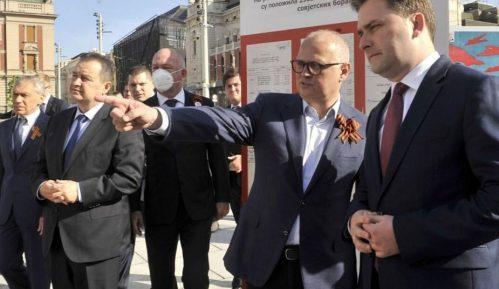 Dačić i Đorđević položili venac na Spomenik oslobodiocima Beograda 7