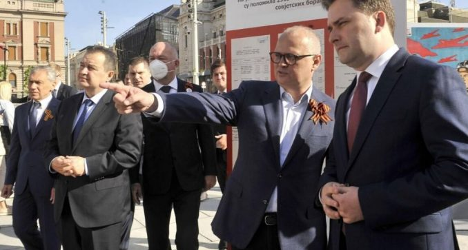 Dačić i Đorđević položili venac na Spomenik oslobodiocima Beograda 2