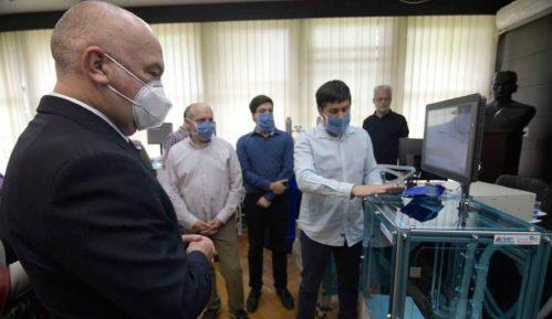 """Predstavljen prvi srpski respirator u Institutu """"Mihajlo Pupin"""" 12"""