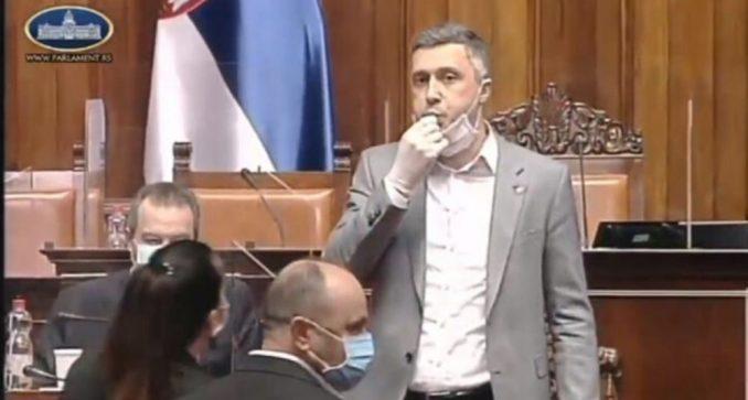 Sednica Skupštine prekinuta, Boško Obradović izbačen zbog zviždanja (VIDEO) 1