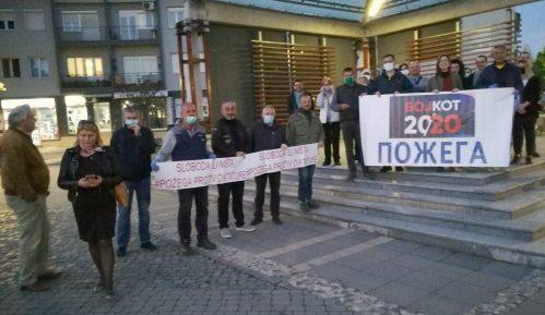 Protestno okupljanje u Požegi 5
