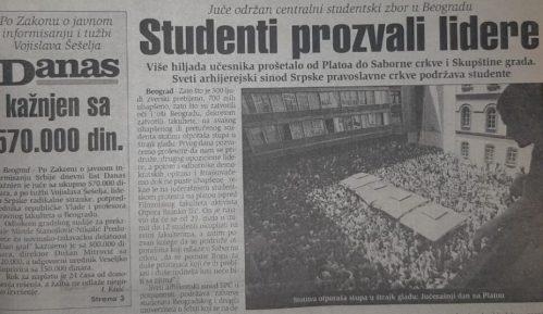 Na protestima pre 20 godina najavljivano 100 štrajkača glađu za svako nasilje vlasti 2