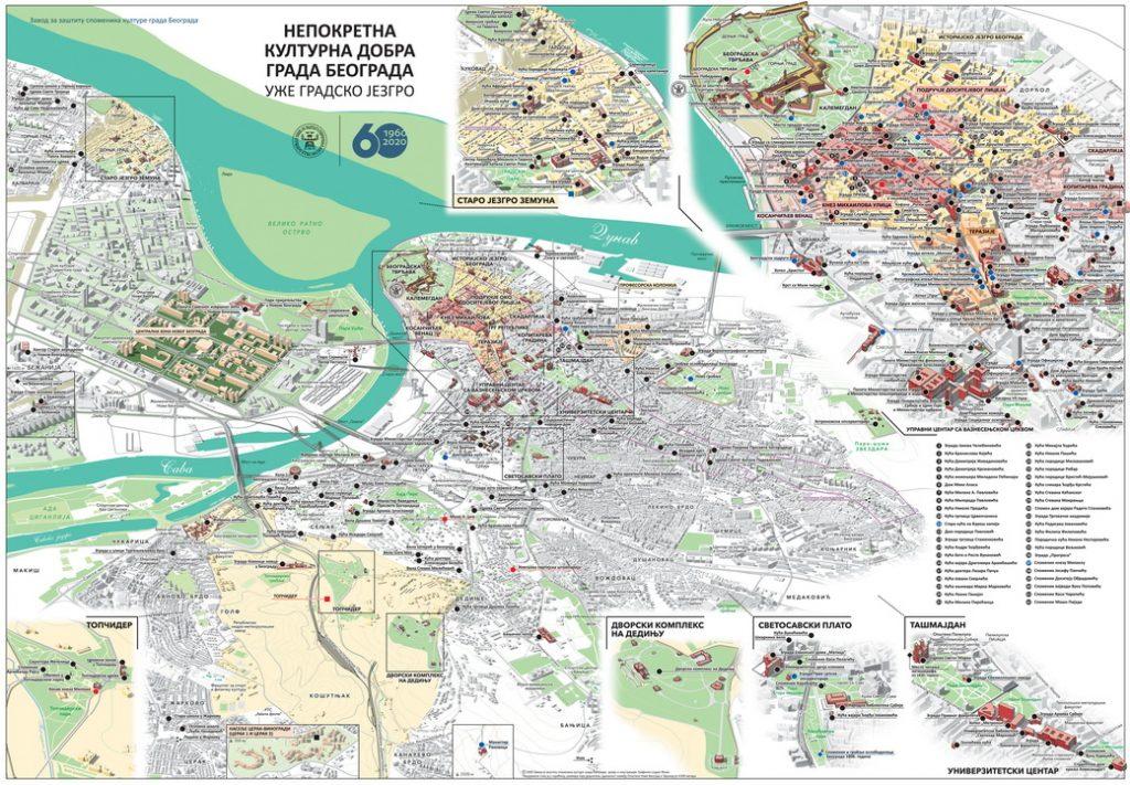 Završena sintezna mapa nepokretnih kulturnih dobara i spomenika u javnom prostoru 3