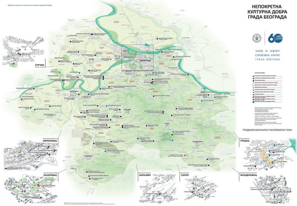 Završena sintezna mapa nepokretnih kulturnih dobara i spomenika u javnom prostoru 2