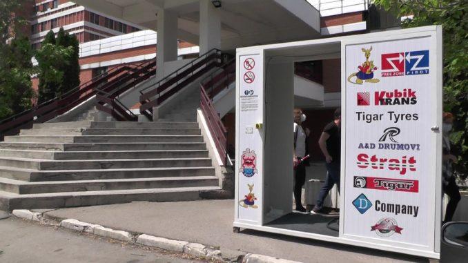 Pirotska bolnica dobila dva dezinfekciona tunela 2