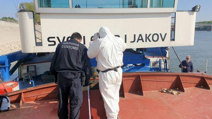 Kontrola broda na Dunavu, otkrivene malverzacije s naftom 1