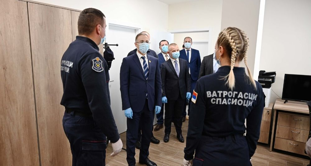 Stefanović otvorio novu zgradu vatrogasno-spasilačke čete u Lazarevcu 2
