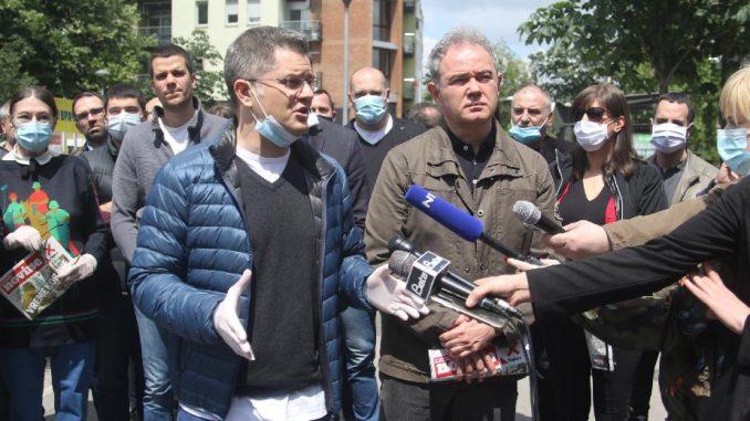Jeremić i Lutovac: Bojkot izbora čuva zdravlje i dostojanstvo građana Srbije 2