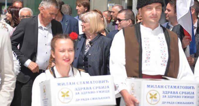 Zdrava Srbija predala listu za lokalne izbore u Užicu 2