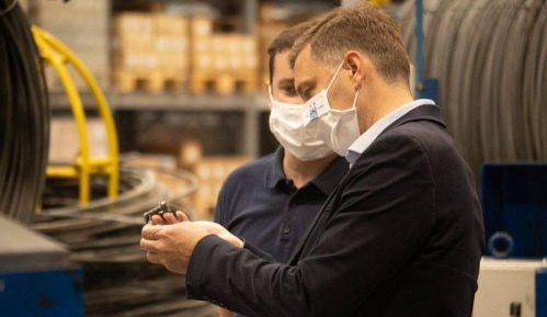 Zelenović: U Šapcu sačuvana proizvodnja uprkos virusu 1
