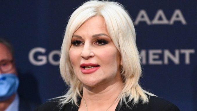 Zorana Mihajlović pozvala da se ne pribegava nasilju i da se poštuju mere u suzbijanju korone 1