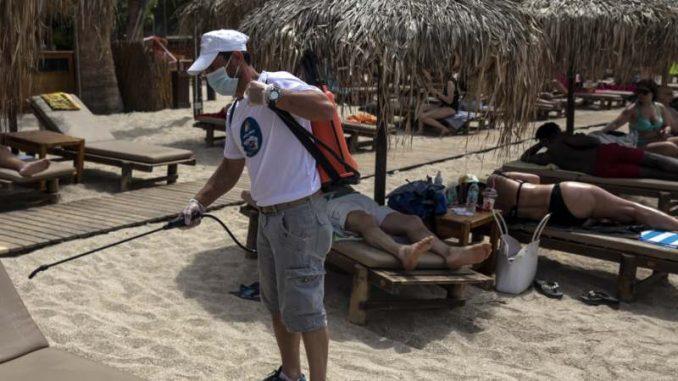 Grčka otvorila plaže, mere stroge, vrućina velika 2