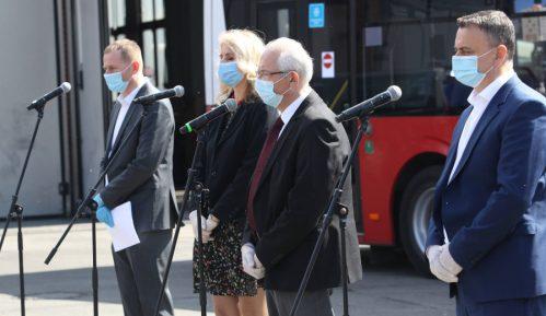 Za putnike u gradskom prevozu bez maske nadležni komunalci 12