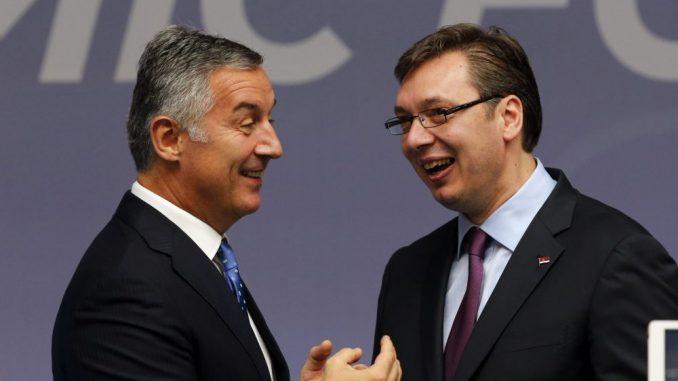 Ometanja Vučićeve kampanje iz Crne Gore 2