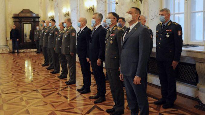Nagrađeno 30 pripadnika Ministarstva odbrane i Vojske Srbije 2