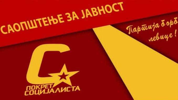 PS: List Danas i Nikola Lunić da upute izvinjenje biračima i članovima Pokreta socijalista 1