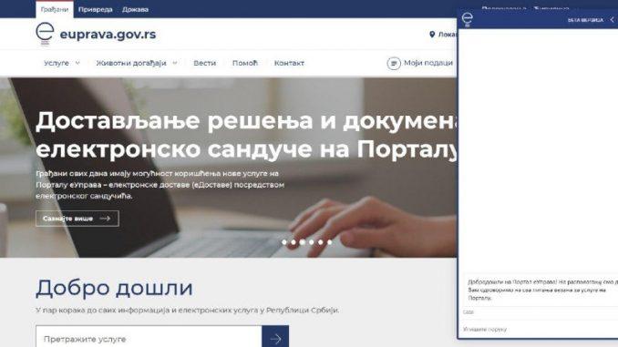 Na Portalu eUprave dostupan automatski info servis 4