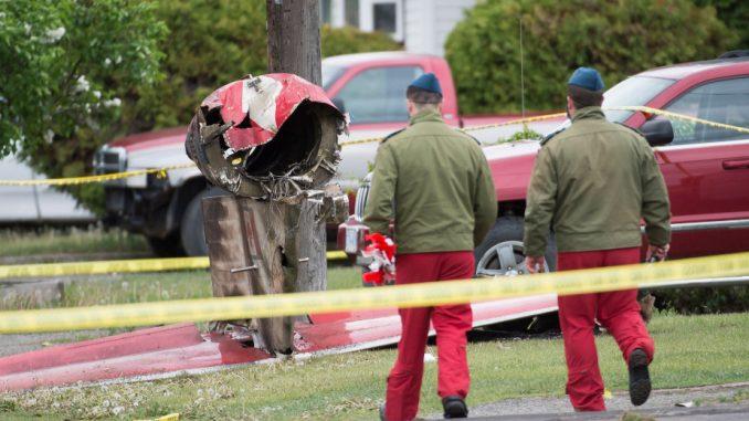 Mali kanadski avion srušio se tokom akrobatskog leta u Britanskoj Kolumbiji 3