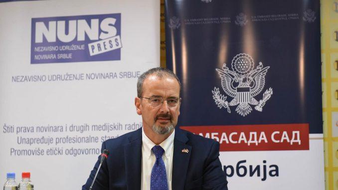 Godfri: Amerika Srbiji i Kosovu nudi šansu 1