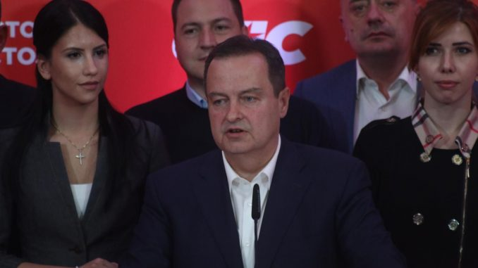 Dačić: SPS nije predstavnik Rusije u Srbiji 2