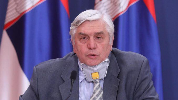Tiodorović: Najoštrije mere ako dnevni broj novoinficiranih dođe do 1.500 1