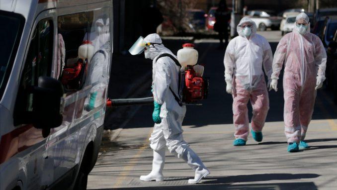 U SAD od korona virusa u jednom danu umrlo 425 osoba 1