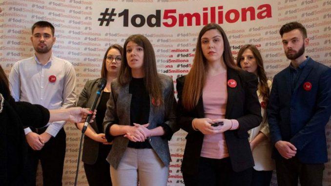 Proglašena izborna lista Jedan od pet miliona 2