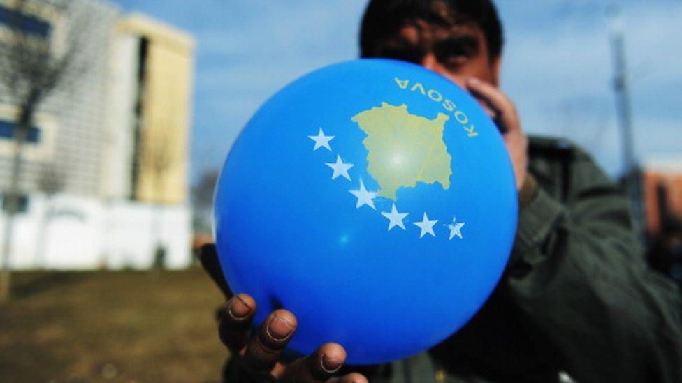 kosovo zastava