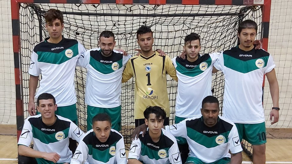 Migrantski tim Mašrek i Magreb na turniru u Hadžićima