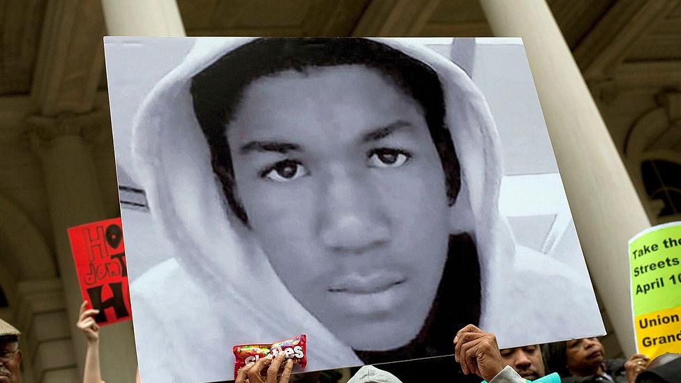 Picture of Trayvon Martin